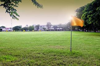 Vlajka sportovní hřiště
