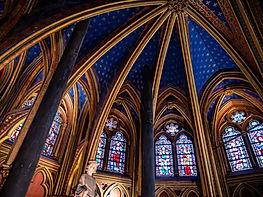 Intérieur d'une cathédrale