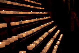 velas de oración