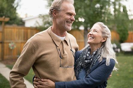glückliches Paar