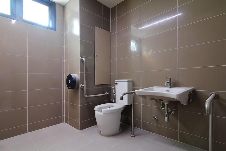 Zugängliches Badezimmer