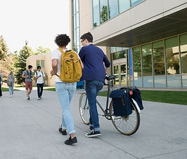 College Students in Campus
