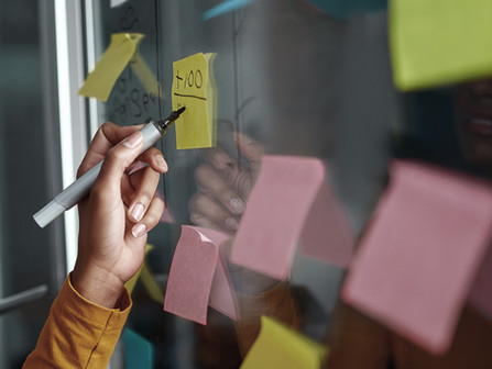 Reverse-Engineering Your Goals, or How Giant Post-It Notes Saved My Life