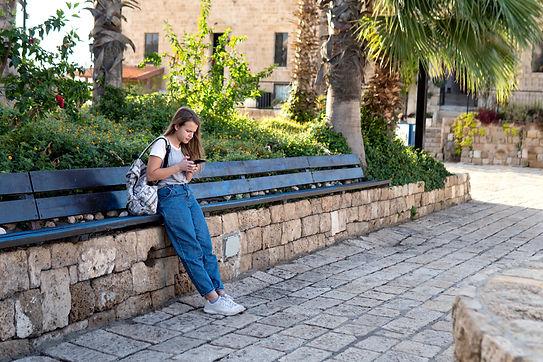 Checking Mobile Phone