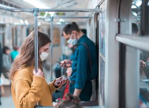 Riscos de transmissão do coronavírus segundo o CDC?