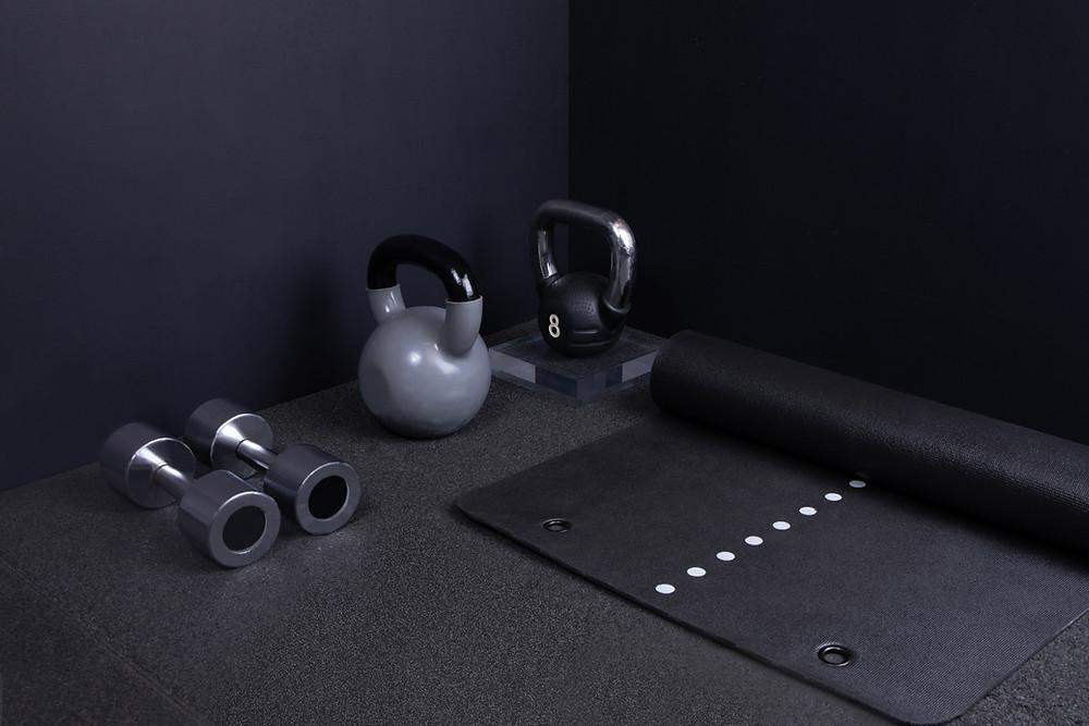 Equipment, Kettlebell, Weights, Matte, Sport, Workout