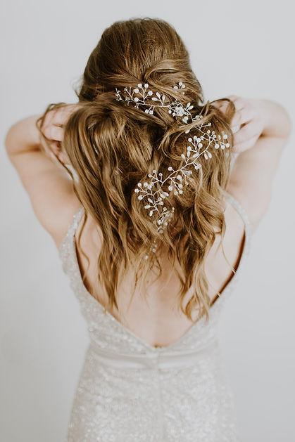 Style de cheveux de mariage