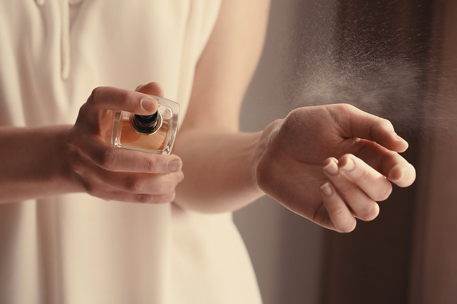 Trying on Perfume