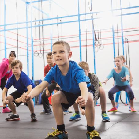 体操教室で、30年以上前のお話し