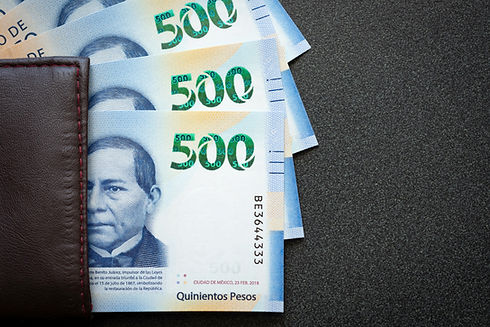 500 Mexican Pesos