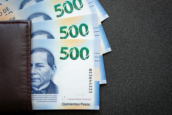 500 pesos Mexicanos