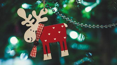 クリスマスツリーの飾り