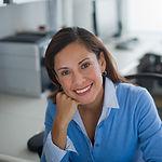 Woman in Office