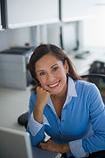 Женщина офиса