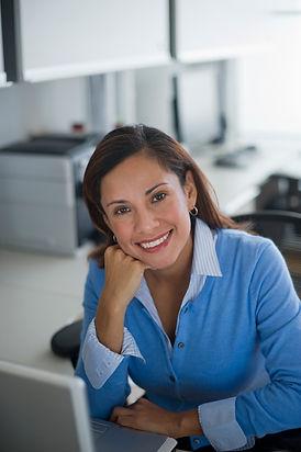 Kobieta w biurze