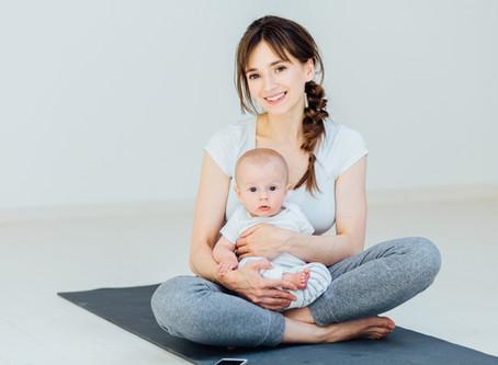 Irmi ist wieder da! Baby Yoga Workshops starten!