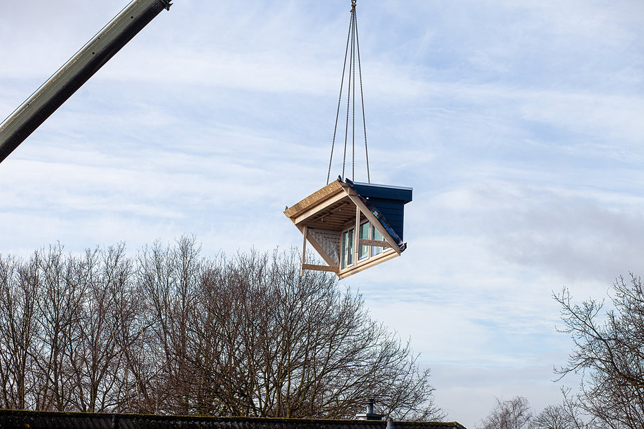 Crane Lifting Windows