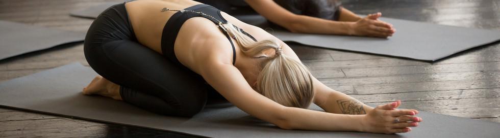 Yin Yoga balasana