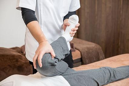 척추 교정 지압 요법 치료