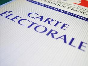S'inscrire pour voter lors des prochaines élections