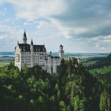 Ausblick Schloss Neuschwanstein