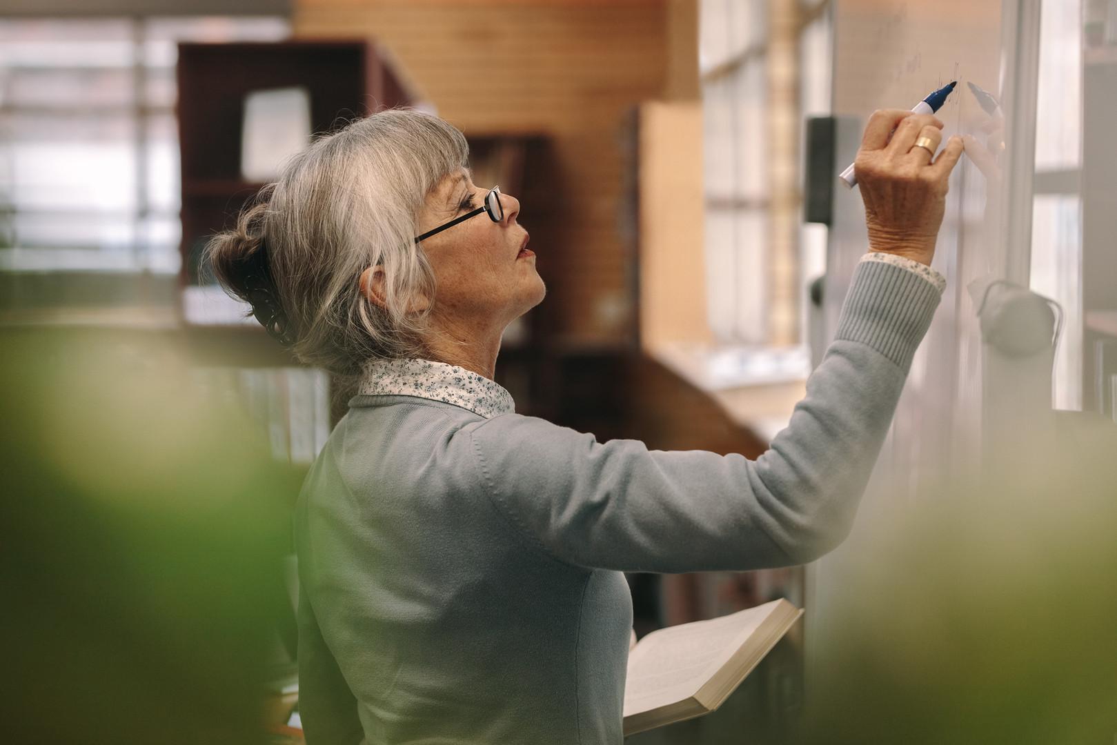 Senior Female Teacher