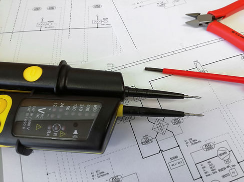 Elektrische bouwplannen