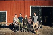 納屋の農家