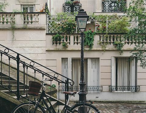 Charmante ville française