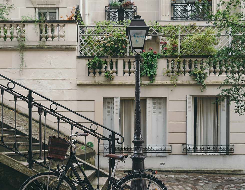 Encantadora ciudad francesa