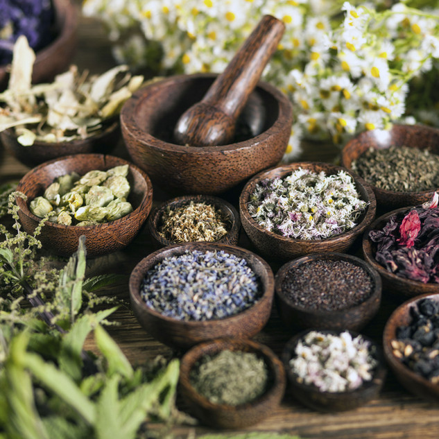 Organic & Wild-Harvested Herbs
