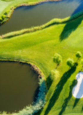 Golf Course Aerial Shot