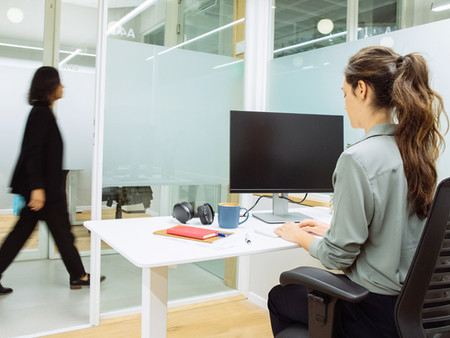 """How to """"Adjust"""" to Office Life and Sitting at a Desk"""