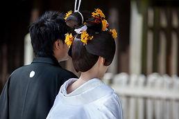 伝統的な日本の結婚式
