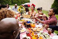 Jantar ao ar livre