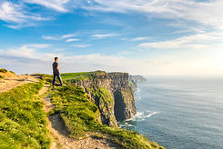 Standing on the Cliffs