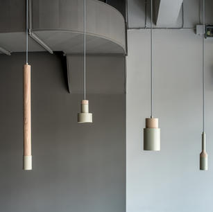 Lámparas Metálicas De Madera