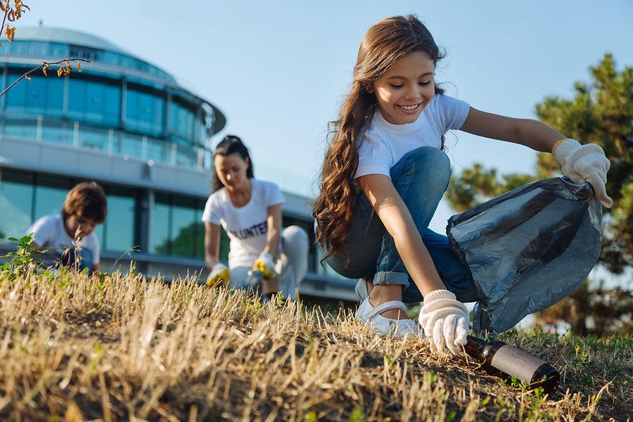 Voluntarios de limpieza