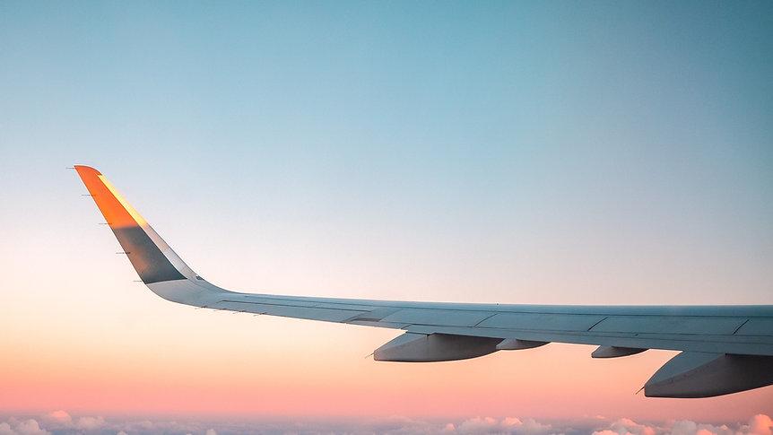 Vleugel van het vliegtuig