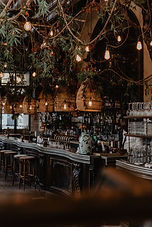 Bar avec des plantes