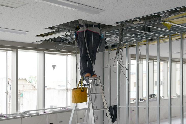 天井裏電気工事