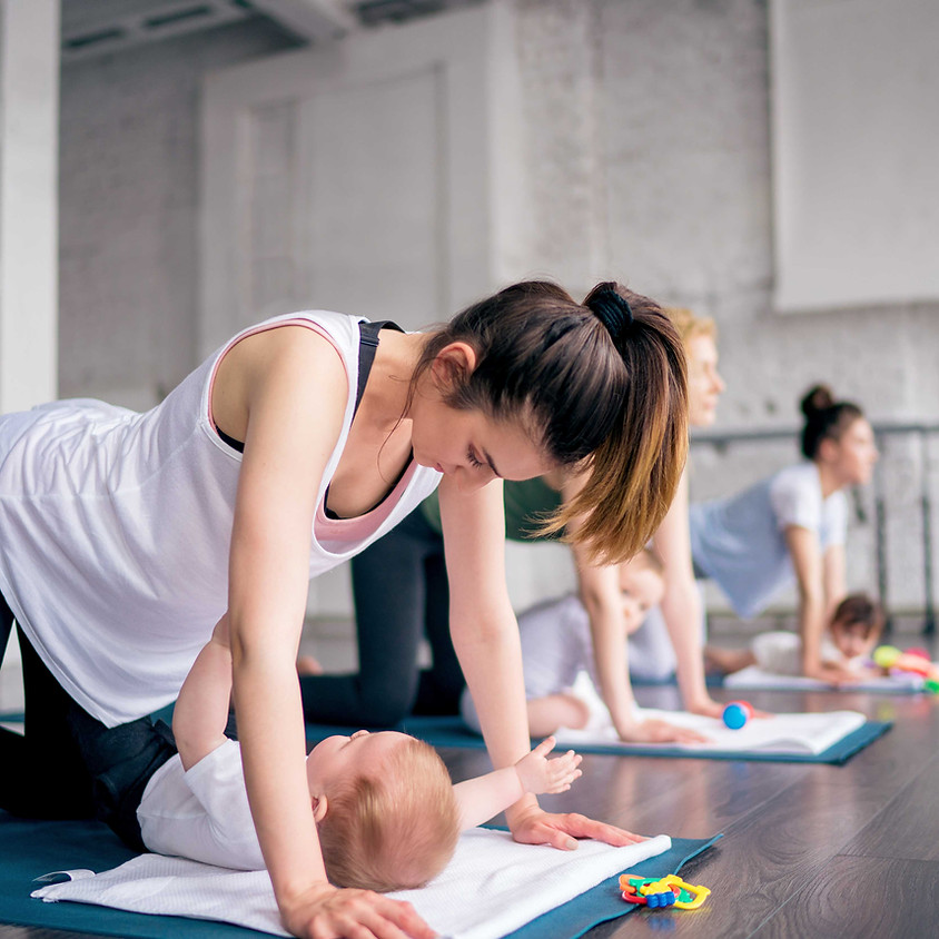 7-Week 'Mum and Baby Yoga' Course (Wednesdays 11.45am)