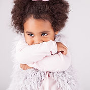 African American Child with arms crossed