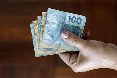 Segurando dinheiro #escolasemtarifa