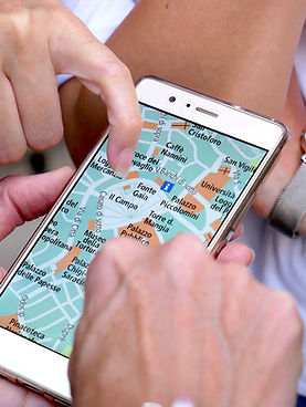 Reading Map on Mobile