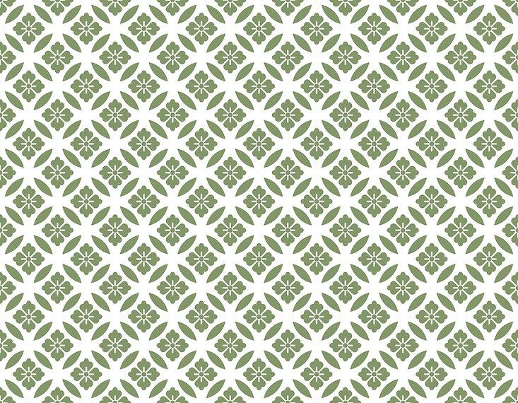 シームレスな和柄パターン 「七宝/菱紋」