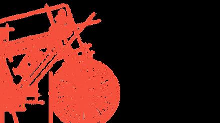 Bicicleta esboçada