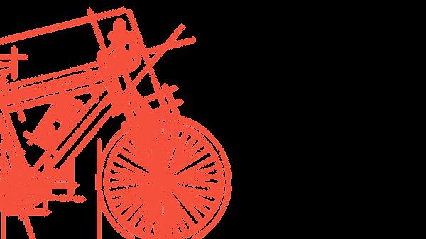 Skizziertes Fahrrad