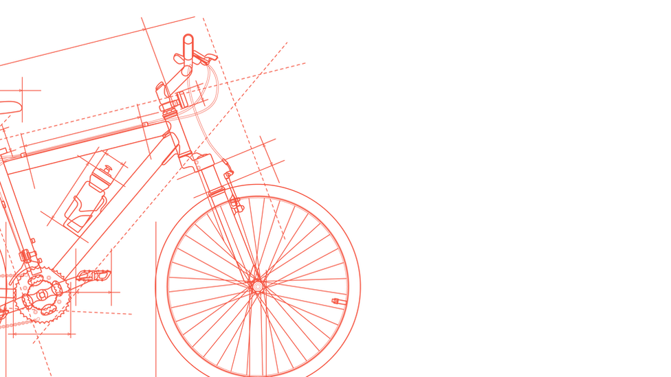 Vélo dessiné