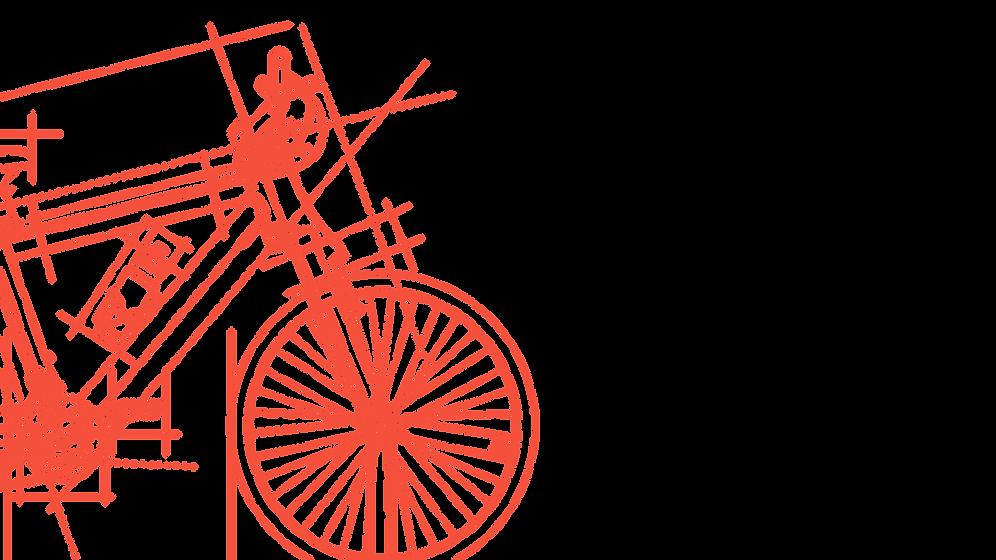Bicicleta bosquejada